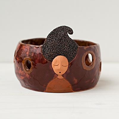 Keramikinės vazelės