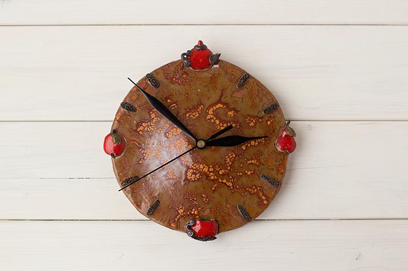 Virtuvinis keramikinis laikrodis