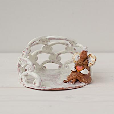 Keramikinė žvakidė