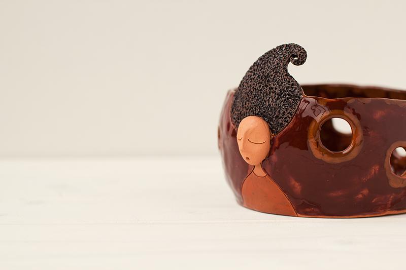 Keramikinė vazelė