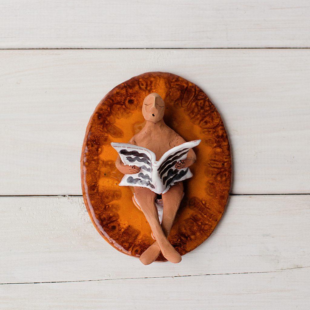 Keramikinis kabuoklis ant durų